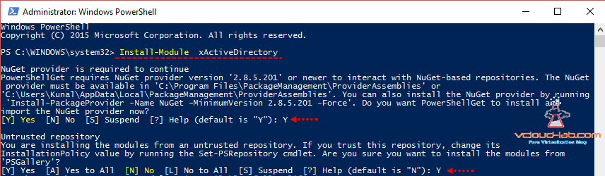 Install-Module Internet, Install-PackageProvider nuget trusted repo