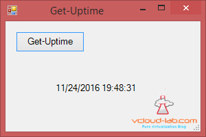 vcloud-lab.com get-uptime windows powershell simple gui creations