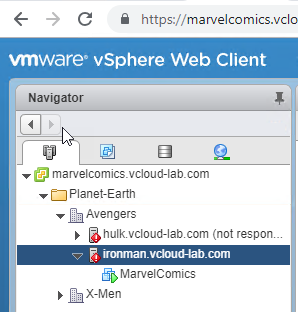 vmware vsphere web client connection to esxi host successful, connect esxi host in vcenter reconnect.png