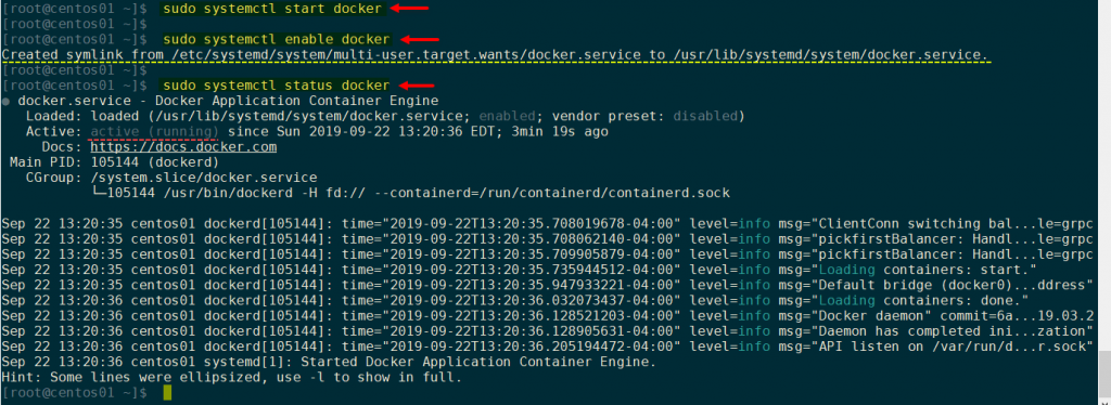 sudo-systemctl-start-docker-sudo-systemctl-enable-docker-created-symlink-for-docker.service-sudo-systemctl-status-docker-community-dockerd-1024x374.png